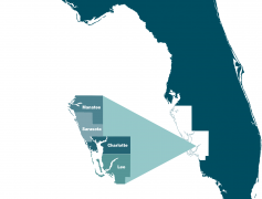 Southwest Florida County Map
