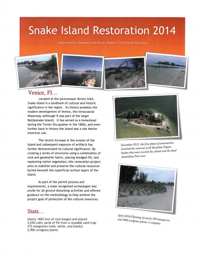 Snake Island Restoration cover
